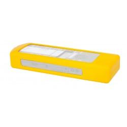 Funda de silicona amarilla
