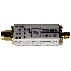 Filtro de paso alto HP700