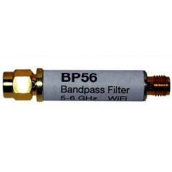 Filtro de 5-6 GHz WiFi BP56