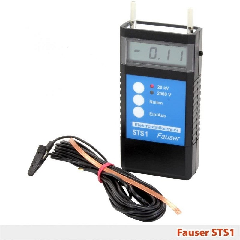 Medidor de electrostatica Fauser STS1